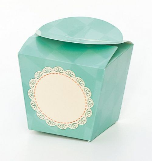 Tiffany Cup Cake Box single 4's
